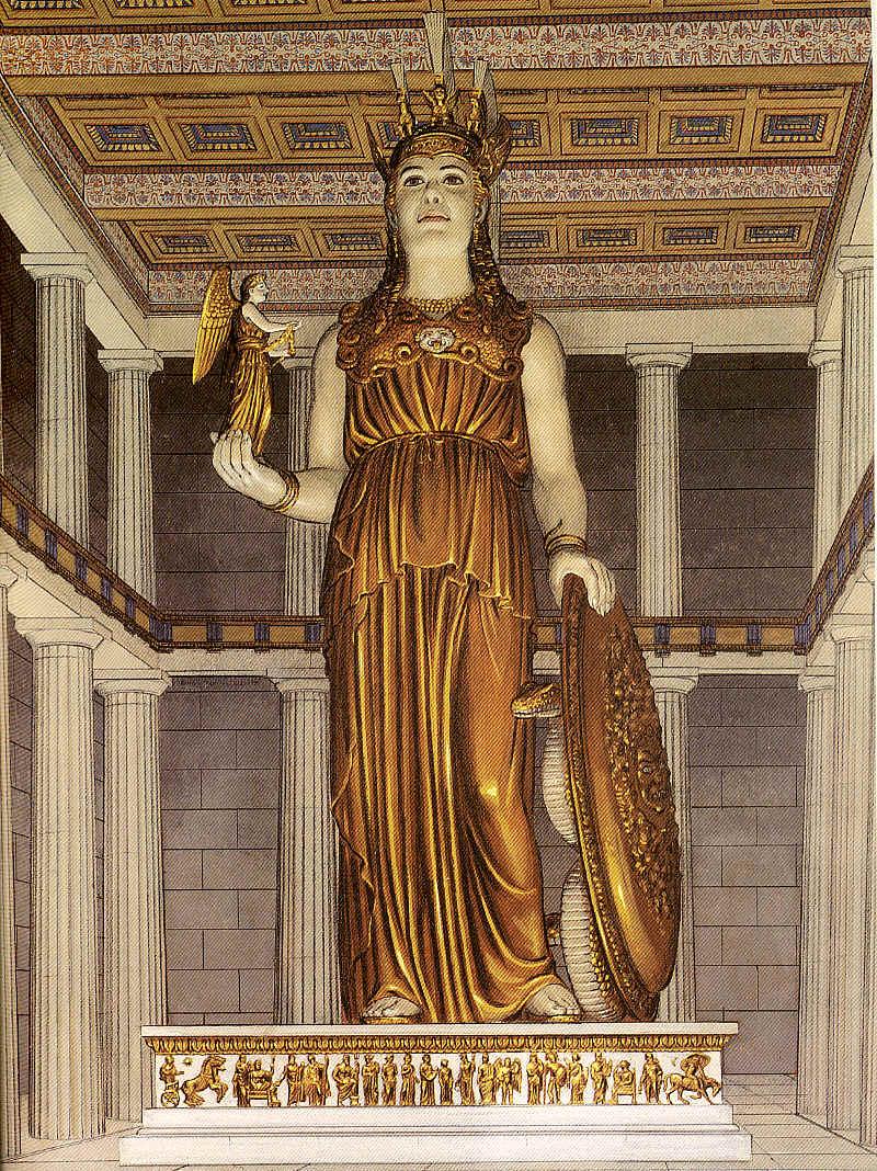 Dioses Romanos Minerva